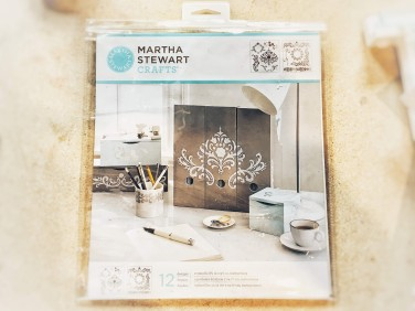 Martha stewart stencil (optional)
