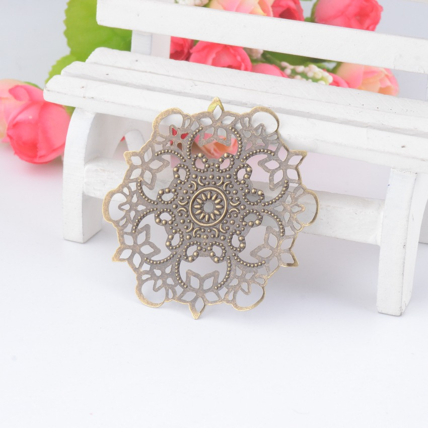 Circle shape flower vintage metal embellishment from AliExpress where to buy metal embellishments