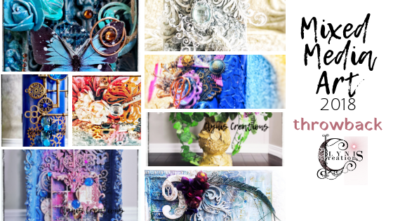 mixed media artist 2018, 2018 mixed media art projects, DIY vintage wedding centerpieces, dollar store wedding centerpiece, upcycling, thrift makeover, unique gift idea