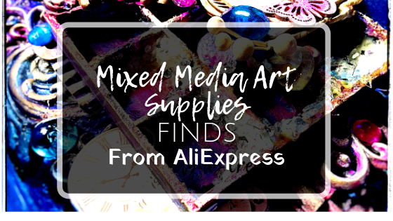 Mixed Media Art Supplies Cheap finds from Aliexpress by Clynis Creations