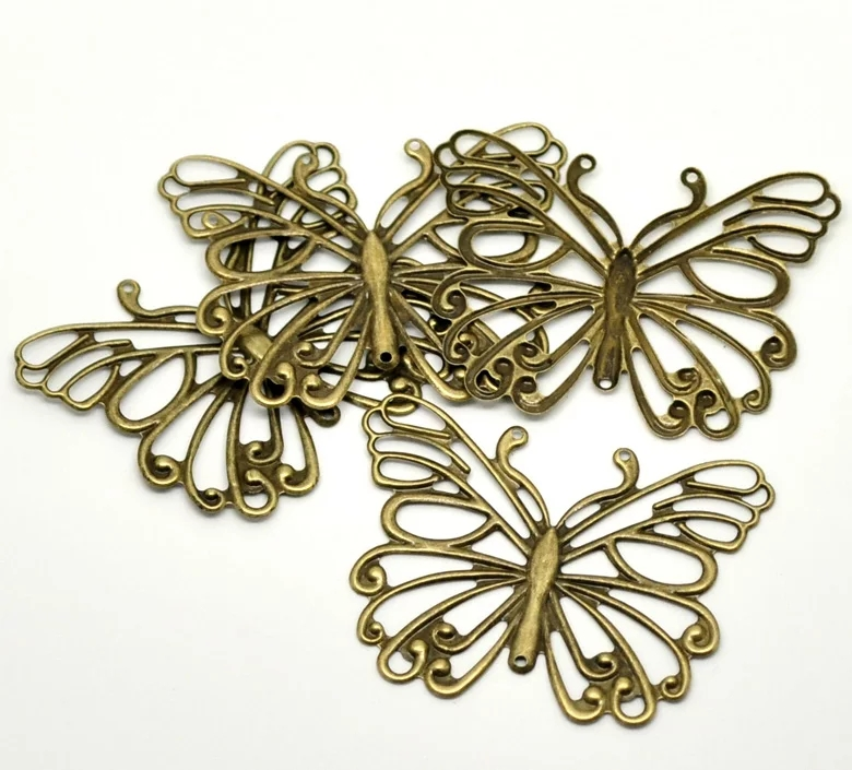 alloy butterfly metal embellishments from aliexpress
