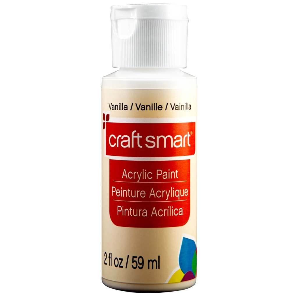 warm white acrylic paint for mixed media projects