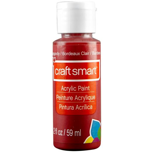 craft smart acrylic paint for mixed media art, burgundy acrylic paint, mixed media tutorial