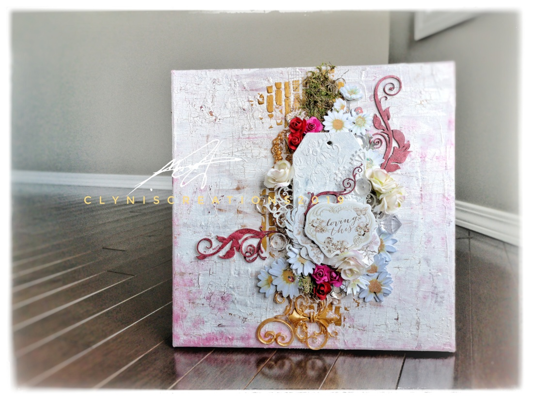 how to do mixed media art step by step tutorial