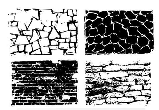 where to buy brick wall design silicone stamps for scrapbooking and mixed media art