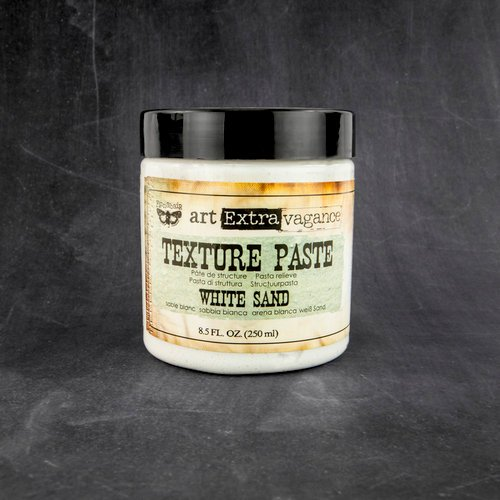 sand texture paste white sand 8.5 fl. oz Finnabair art Extravagance mixed media art