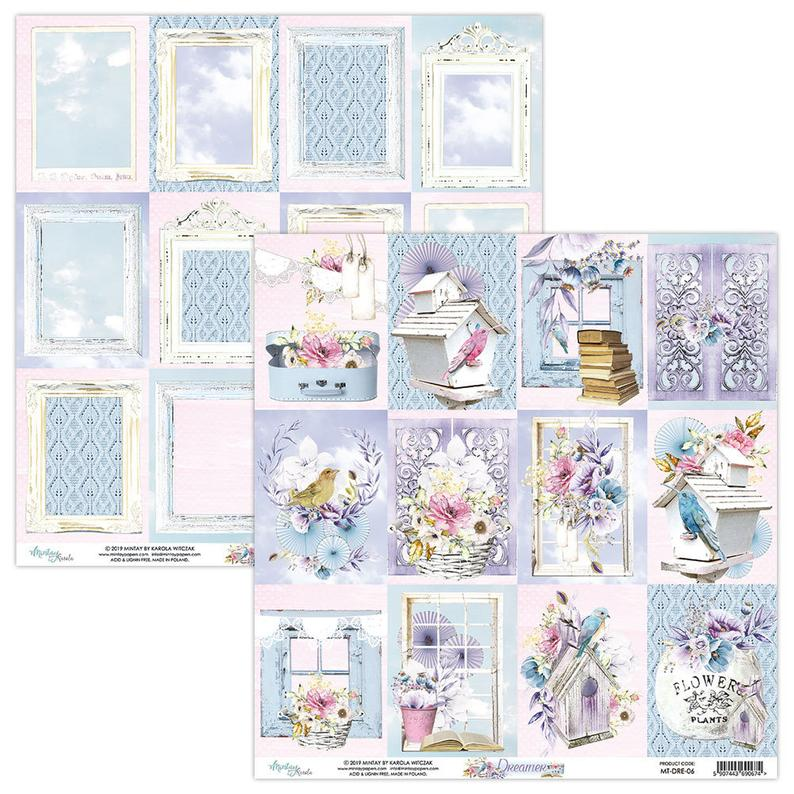 12 x 12 Scrapbooking paper by Mintay Paper